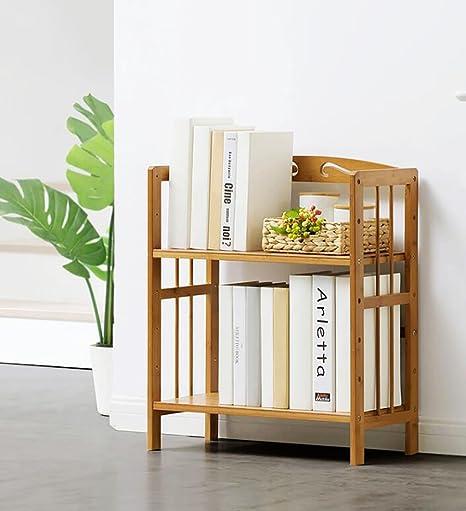 Cdbl Wall Shelf Simple Bookshelf Racks Multi Floor Table Landing Bamboo Childrens