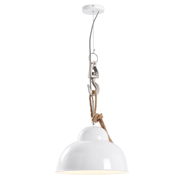 Kave Home Lámpara de techo Gianna, blanco: Amazon.es: Hogar