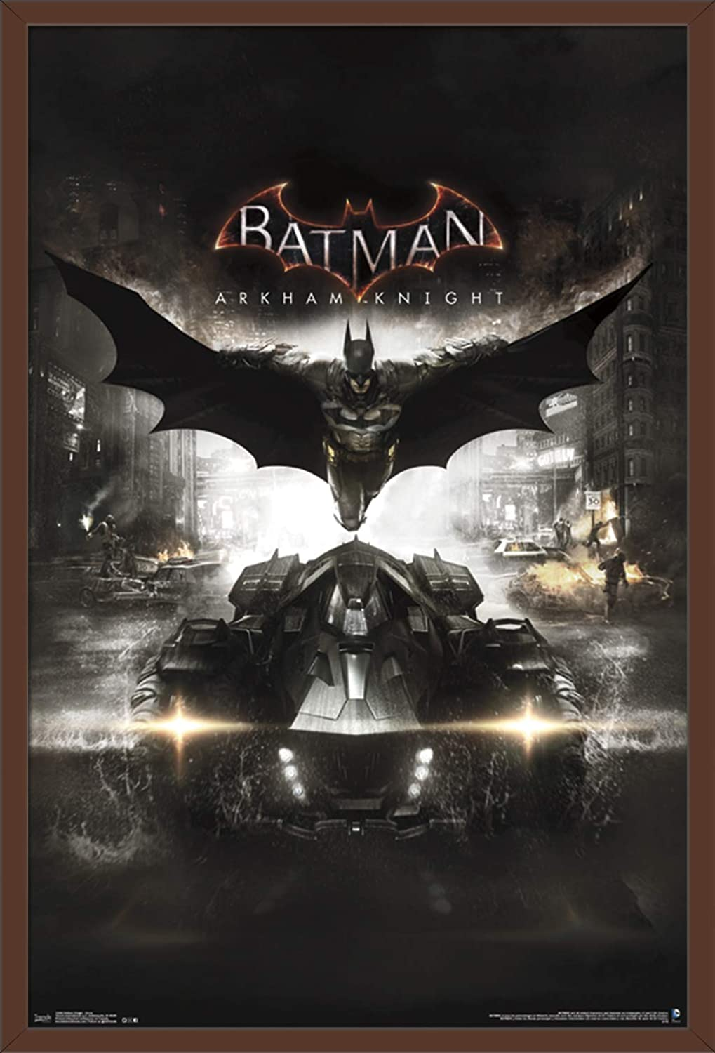Trends International Arkham Knight Cover Wall Poster 22.375 x 34