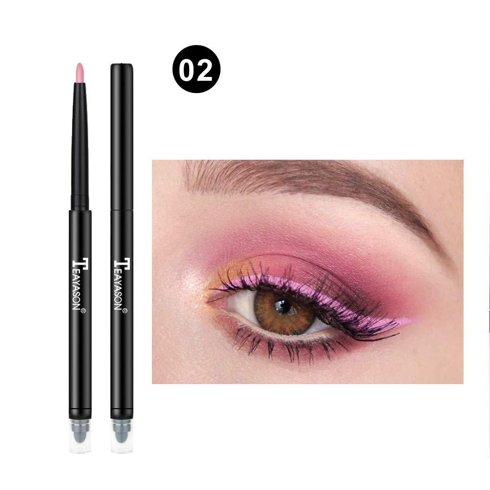 99native 12 color eyeliner waterproof flash eye shadow lip liner eyeliner pen eyebrow pencil makeup pen makeup set