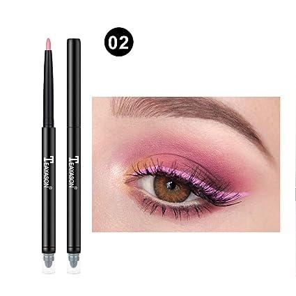 TAOtTAO - Delineador de labios con purpurina para maquillaje, 12 colores
