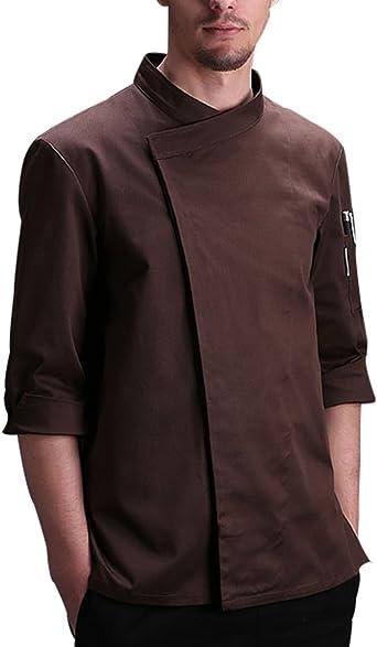 LHWY Camisa de Hombre Chaqueta de Manga Larga de Estilo