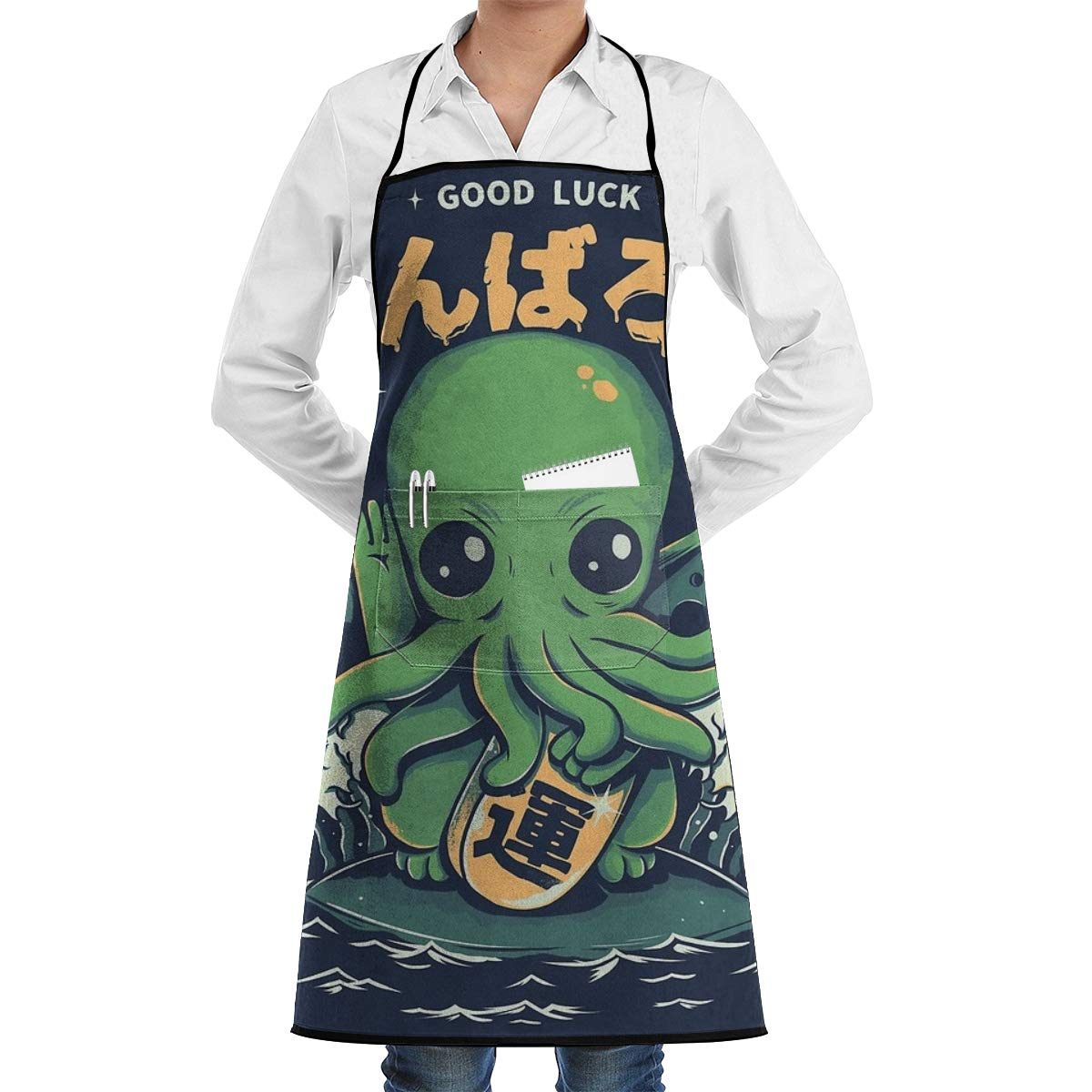 Ameok-Design Good Luck Cthulhu - Delantal de Cocina Unisex ...
