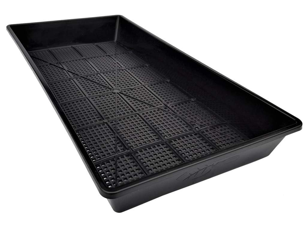 Mesh Bottom Trays - 5 Pack - for Soil Blocks, Wheatgrass, Hydroponic and Fodder Systems Extra Strength 1020 Tray by Bootstrap Farmer