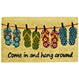 Home & More 121831729 Flip-Flop Fun Doormat