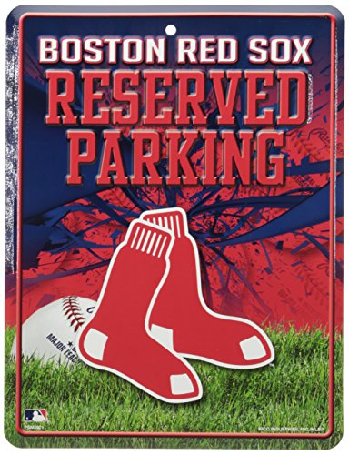 MLB Boston Red Sox Parking Sign Boston Red Sox Street Sign