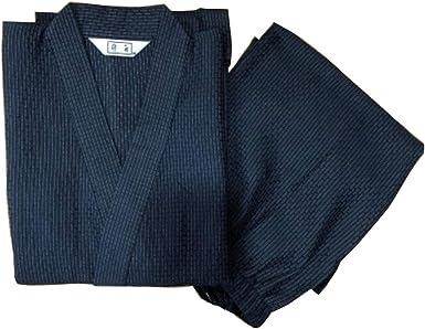 Traje de Pijama Kimono de Estilo japonés para Hombre [J]