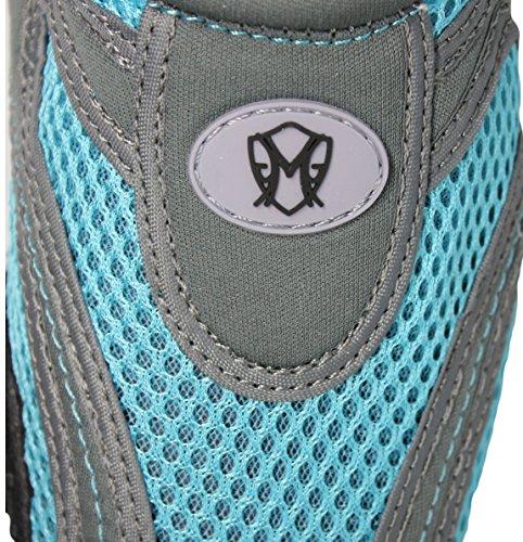 Greg Michaels Womens Water Shoes Aqua Socken - Hohe Haltbarkeit, angenehm zu tragen in Wasser und auf der Oberfläche Grau Blau