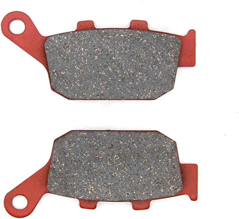 14-16 MEXITAL 1 pair Motorbike Rear Ceramic Organic Brake Pads for Honda NC 750 S//XD//J
