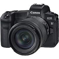 Canon EOS R pełnoklatkowy aparat systemowy - z obiektywem RF 24-105mm F4-7.1 IS STM (bezlusterkowy, 30,3 MP, 8,01 cm (3…