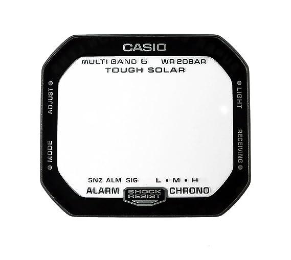 Casio Repuesto Cristal Reloj Cristal Mineral Cristal Rectangular con aufdruk para G de shock GW de m5610th: Amazon.es: Relojes