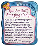 "Sculpted Magnet: You Are One Amazing Lady, 3.0"" x"