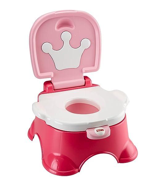 Fisher-Price Stepstool Potty, Pink Princess
