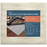 Ophanie Non-Slip Rug Pad Gripper 5x7 Extra-Thick Pad Gripper for Hard Surface Floors, Keep Your Rugs Safe and in Place