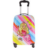 Barbie - Valise Rigide 4 roulettes Barbie