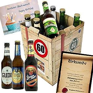 60 Geburtstag Geschenke Fur Manner Bier Geschenk Box Gratis
