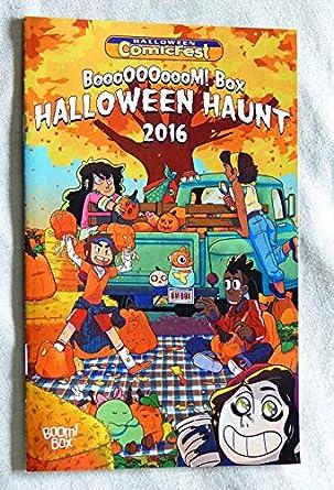 box halloween haunt mini comic book halloween comicfest 2016 boom box comics