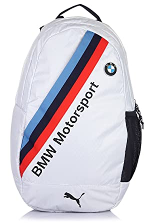 8a026ba8f1c Puma White and Bmw Team Blue Polyester Casual Backpack (7264501 ...