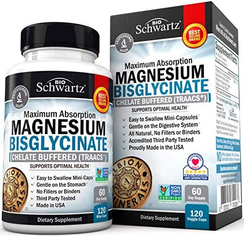 Vitamins & Supplements: BioSchwartz Magnesium Bisglycinate