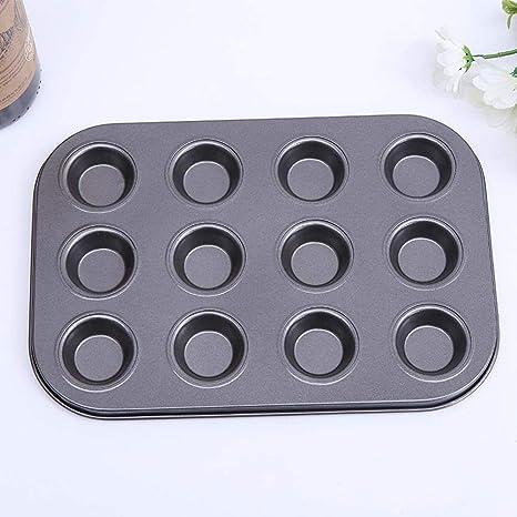 iShinè_Kitchen supplies Placa de cocción Mold Molde para Tartas Antiadherente Mini Molde para Tartas Placa de