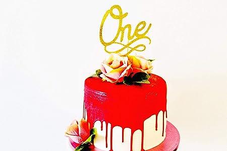 Decoración para tarta para boda o primer cumpleaños con ...