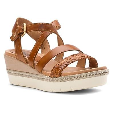Amazon.com | Pikolinos Womens Mykonos Platform Sandal Brandy Size 41 EU  (10.5-11 M US Women) | Platforms & Wedges