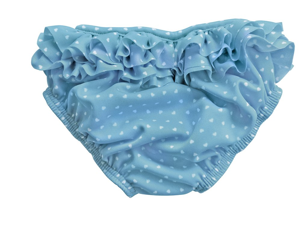 Fashy Little Stars Babies Frills Nappy Pants-Tourquoise//White 62//Size 68