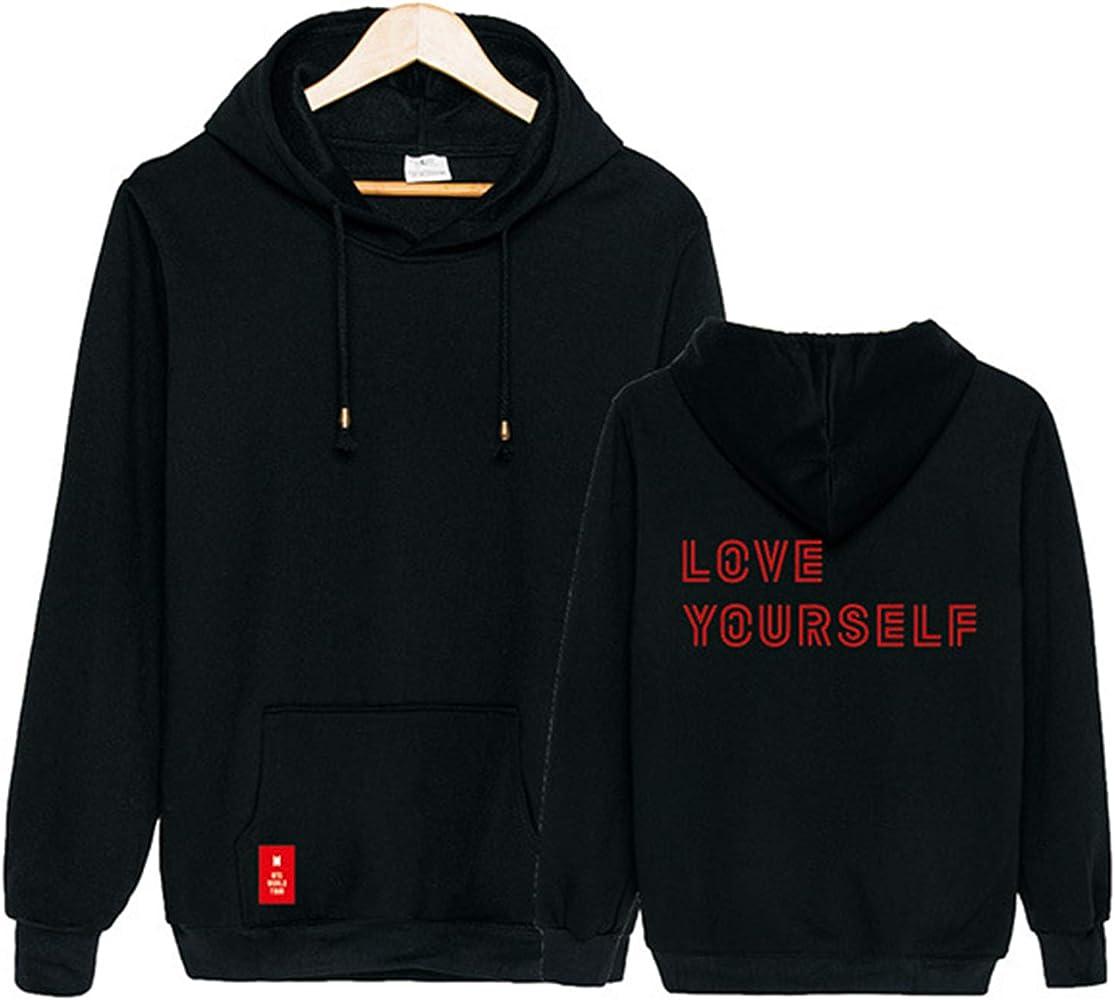 Kpop BTS Love Yourself World Tour Hoodie Suga Jimin Jin Sweater Pullover Jacket