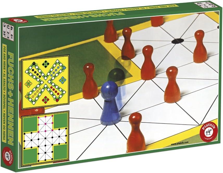 Piatnik 6323 El Zorro y la gallina - Juego de Mesa de Estrategia y lógica [Importado de Alemania]: Amazon.es: Juguetes y juegos