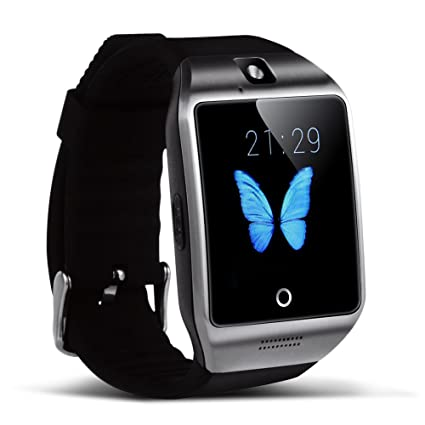 Amazon.com: Padgene V8 Sports Smart Watch Bluetooth Message ...