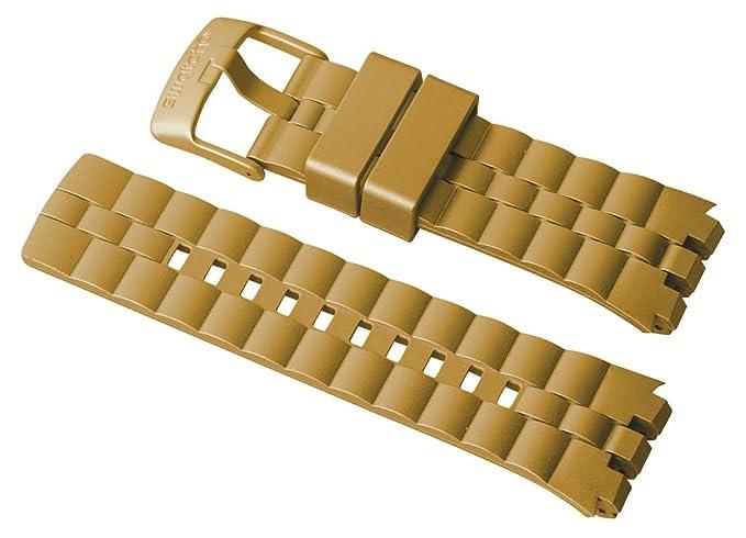 "Original Swatch Digital Touch pulsera ""Oro Bump asurc101"