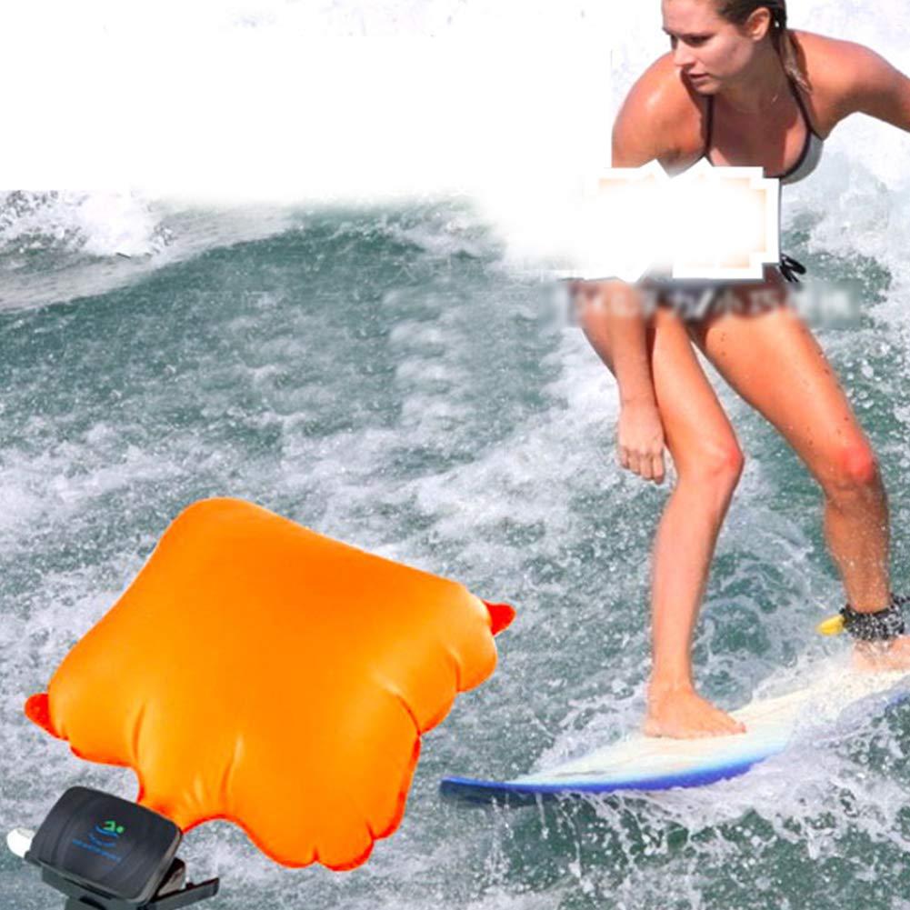 UIYU con sistema de rescate autom/ático Pulsera flotante para adultos y ni/ños y principiantes en nataci/ón bolsa de aire inflable y port/átil dispositivo de rescate de seguridad para surf y nataci/ón
