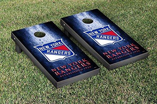 New York Rangers NHL Regulation Cornhole Game Set Museum Version by Victory Tailgate
