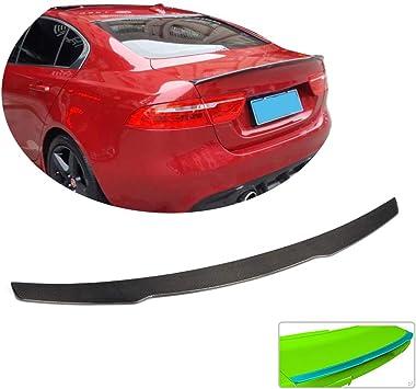 Car Carbon Fiber Wing Rearview Mirror Cap Trim fit For Jaguar XE XF XJ 2015-2018