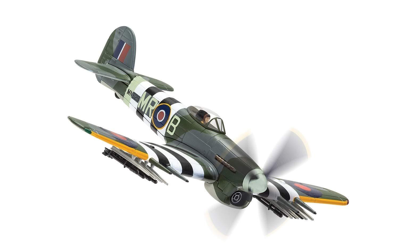 Corgi 1:72 RAF Hawker Typhoon Mk. Ib Ground Attack Aircraft - MN625/MR-B, No. 245 (Northern Rhodesian) Squadron, Homesley South Airfield, Hampshire, June 1944