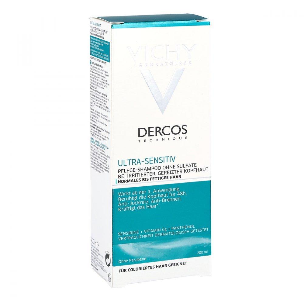 Vichy Dercos Ultra Sensibile Shampoo Normale A capelli grassi, 200ML L Oreal Deutschland Vichy M9070200