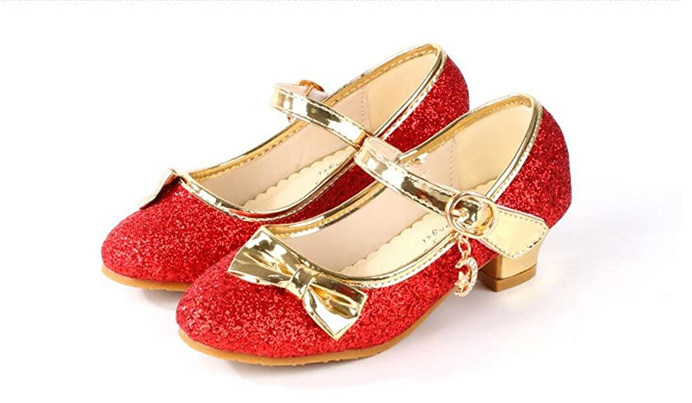 PRETTYHOMEL Girls Strap School Uniform Dress Shoe Mary Jane Flat Toddler//Little Kid//Big Kid