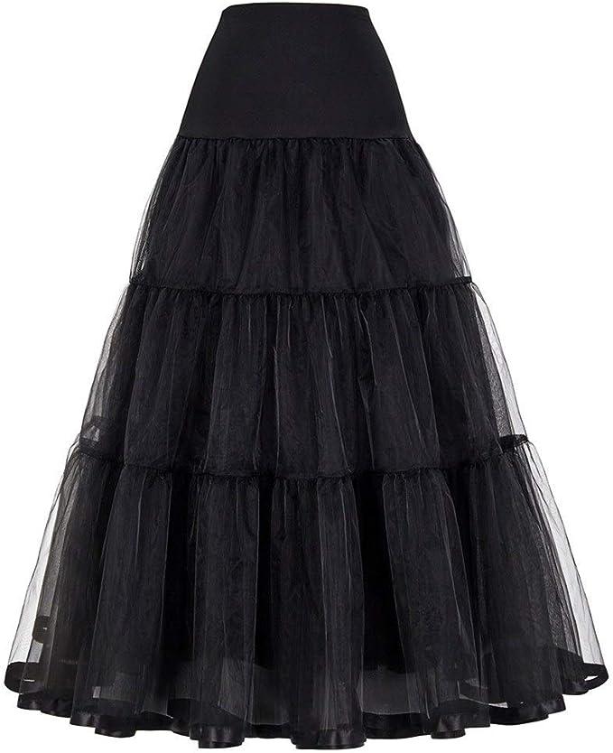 Haucalarm Falda de tul para mujer, falda larga de boda en línea ...