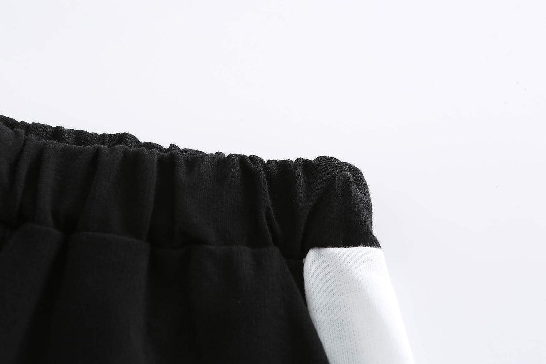 YUN HAO Baby BoysJersey Harem Pants Active Jogger Elastic Trousers