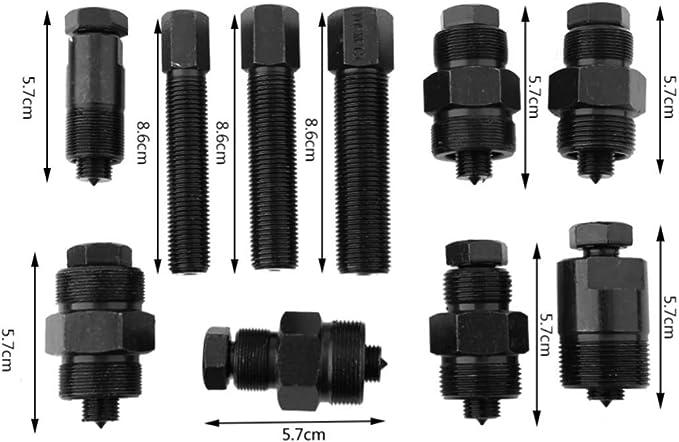 Motor Magn/ético para Motocyclettes ATV Dirt Bikes Kit de Extractor de Volante 10 Piezas