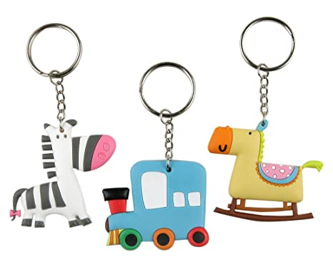 Amazon.com: Mopec K24 – Childrens Keyring with Form of ...
