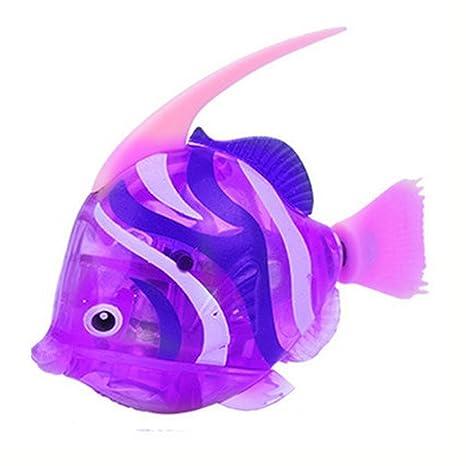 Robot pescado eléctrico juguete Childen para natación y buceo agua niños jugando juguete regalos para niños