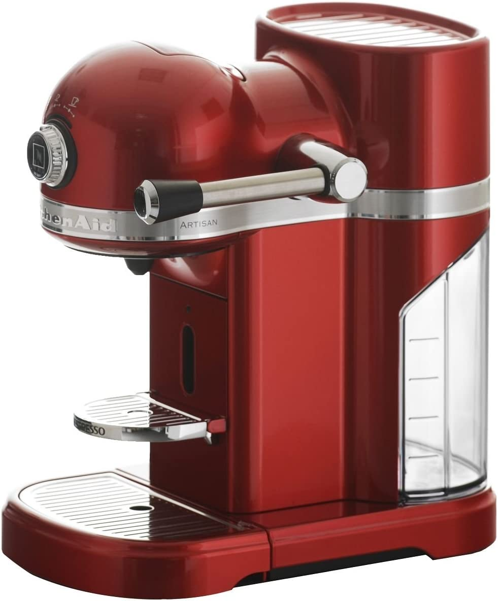 KitchenAid 5KES0503ECA/4 - Cafetera Nespresso Artisan, color rojo ...