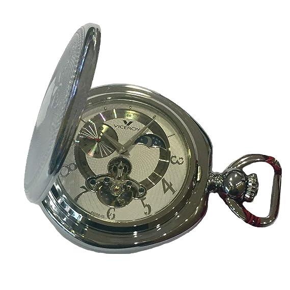 Reloj Viceroy 44069-05 de Bolsillo de Cuerda, con Doble Tapa ...