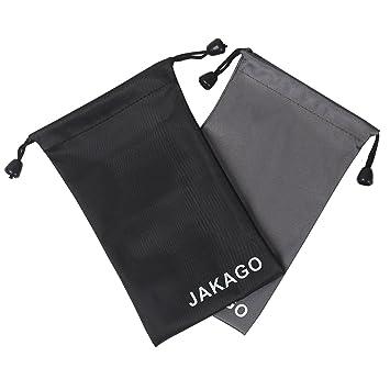 2 calcetines de móvil universales Jakago de tela impermeable para dispositivos de hasta 5