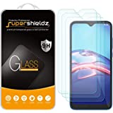(3 Pack) Supershieldz for Motorola Moto E (2020) Tempered Glass Screen Protector, Anti Scratch, Bubble Free