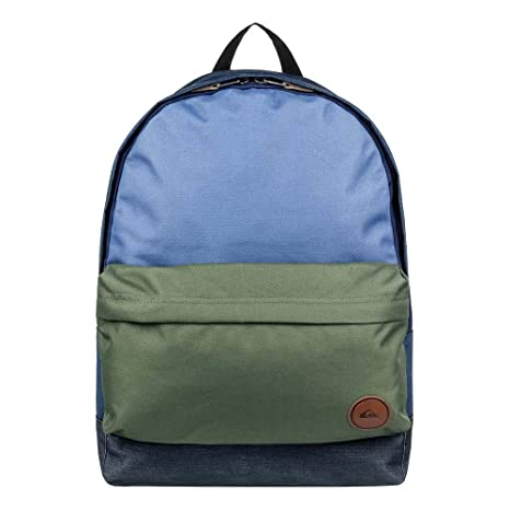 Quiksilver Everyday Poster Plus Backpack, Hombre, Medium Grey Heather, 1SZ