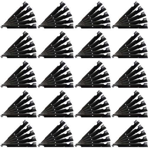 100 Pack - USA Mower Blades ® Commercial Hi-Lift fits Lesco ® 32022A 32022363055 50125 50140 633482 by AI