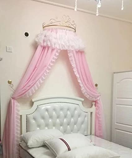 Amazon Com Kqcnifvnklm Princess Bed Canopy European Wrought Iron