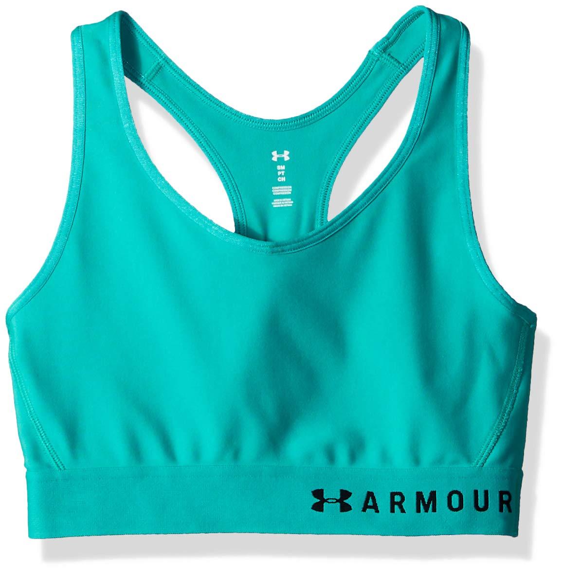TALLA S. Under Armour Armour Mid Keyhole Bra - Sujetador Deportivo Mujer